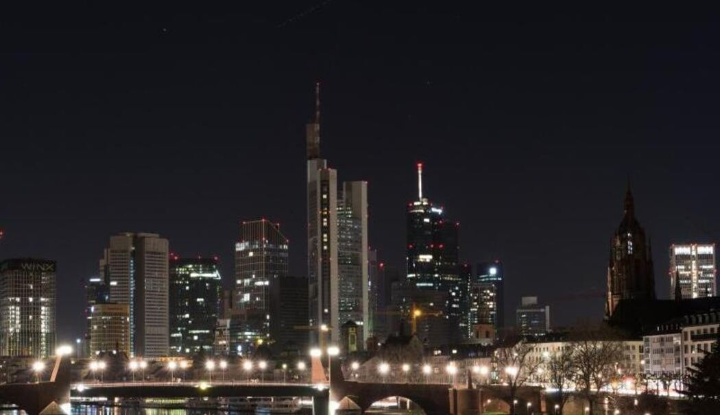 «Earth Hour» in Frankfurt am Main