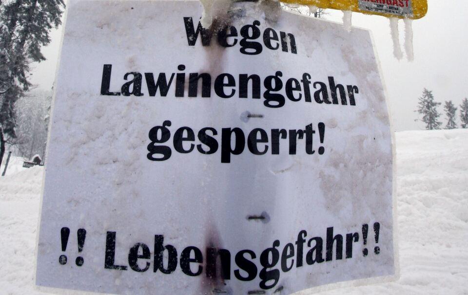 Lawinenabgang in Obertauern - Bergrettung appelliert