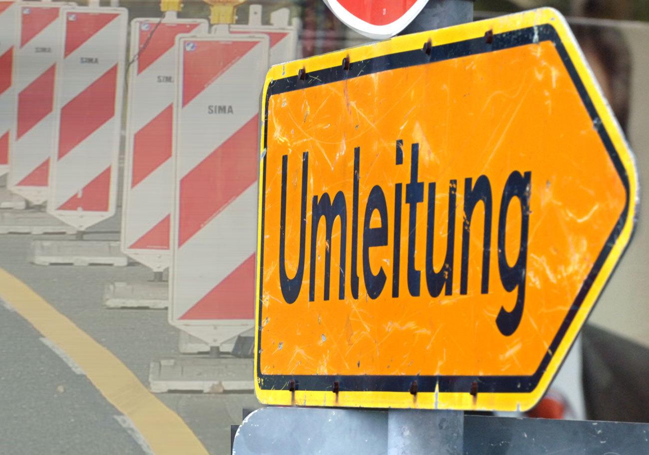 Sanierung: B299südlich von Garching ab kommendem Dienstag gesperrt