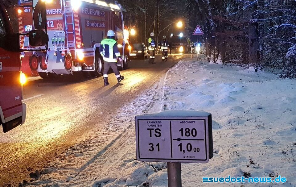 Unfall Chieming Tabing - News Traunstein