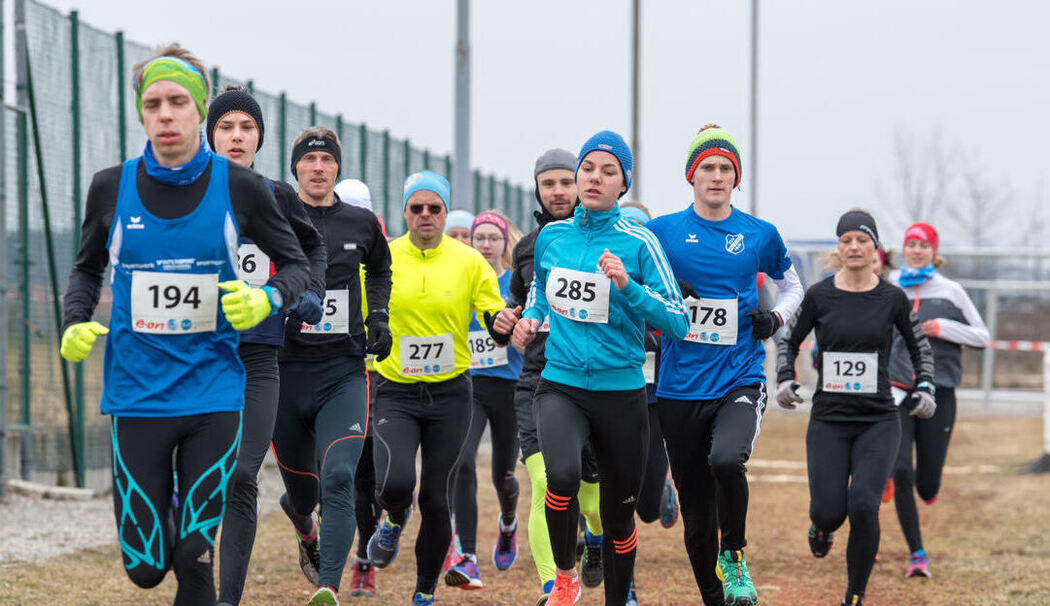6. Crosslauf in Chieming 2018