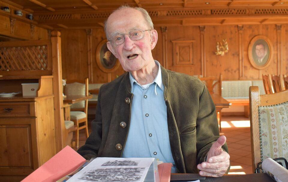 Ruhpolding: Norbert Kittel beim Klassentreffen des Elisabeth ...