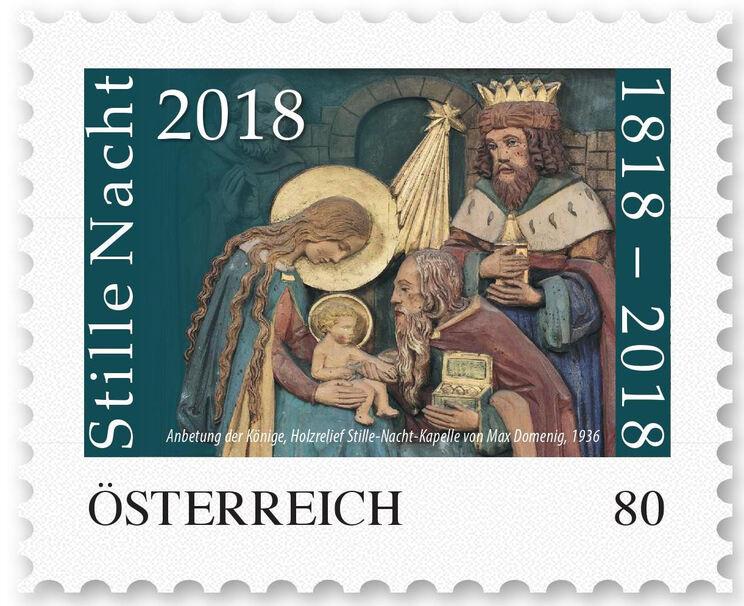 die stille nacht briefmarke 2018 chiemgau bl tter 2018 traunsteiner tagblatt
