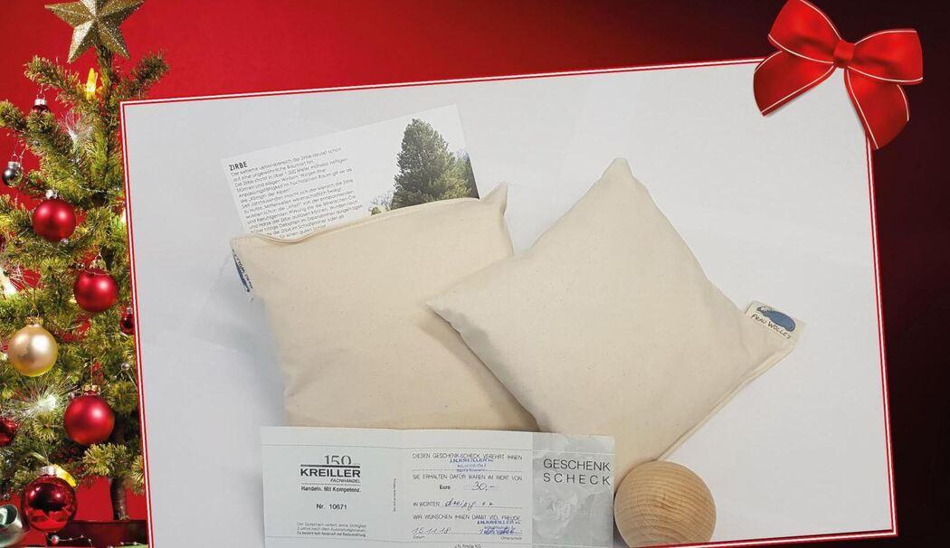 heute verlosen wir einen kreiller gutschein und zirben produkte. Black Bedroom Furniture Sets. Home Design Ideas