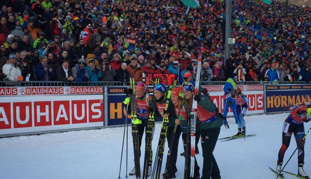 Biathlon-Weltcup in Ruhpolding: 3. Platz für Deutschland – Dahlmeier in alter Stärke zurück