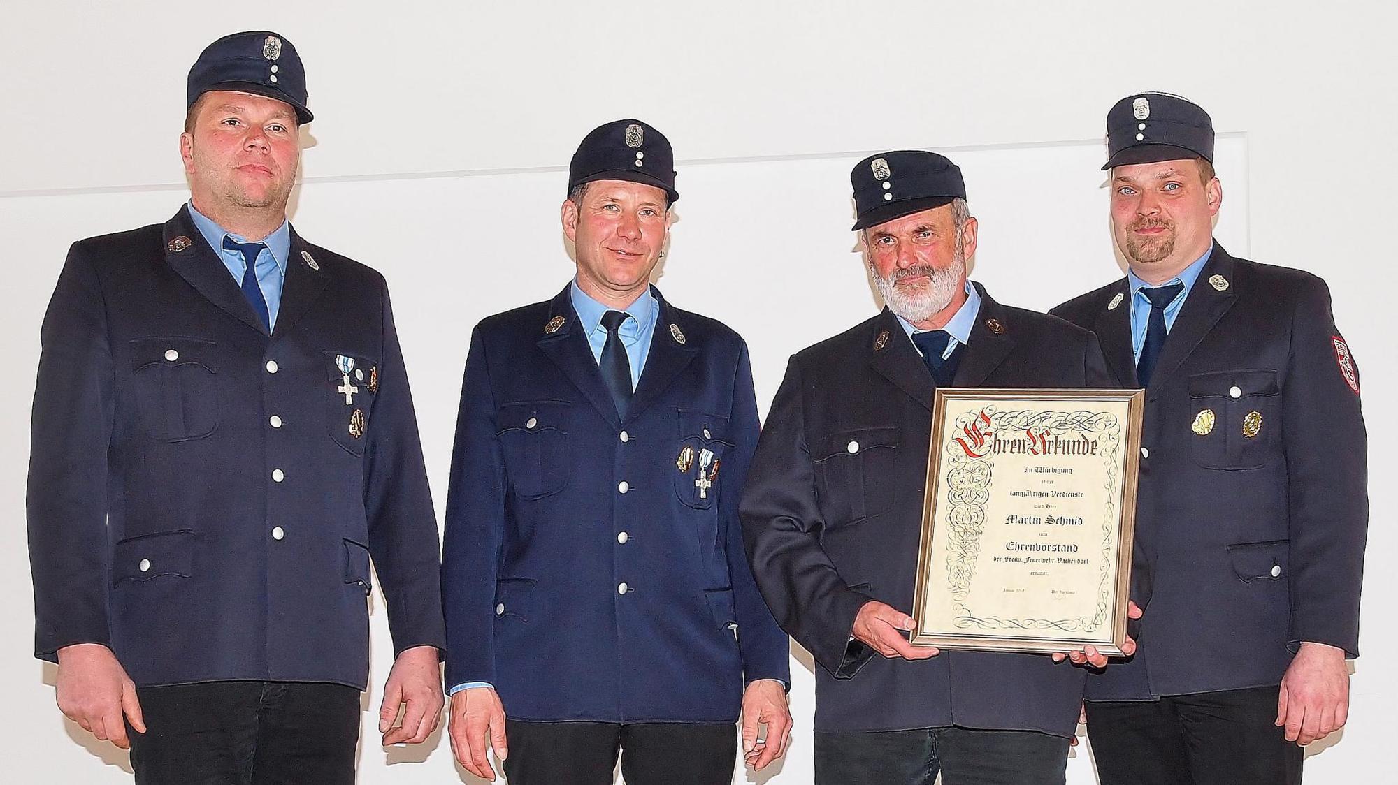 18 Einsätze für die Vachendorfer Feuerwehr