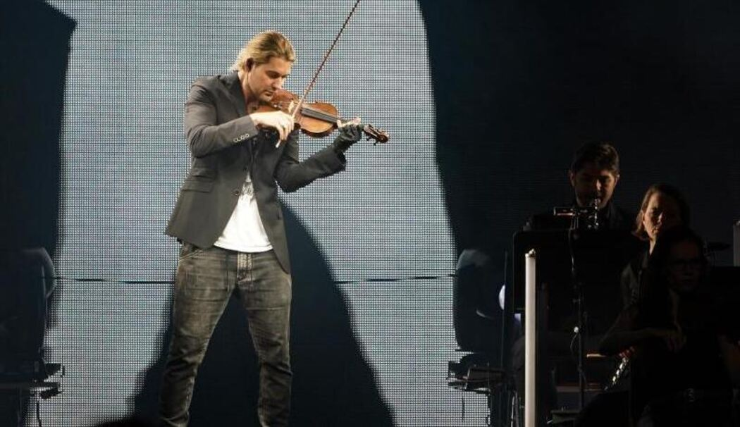 Tourauftakt David Garrett