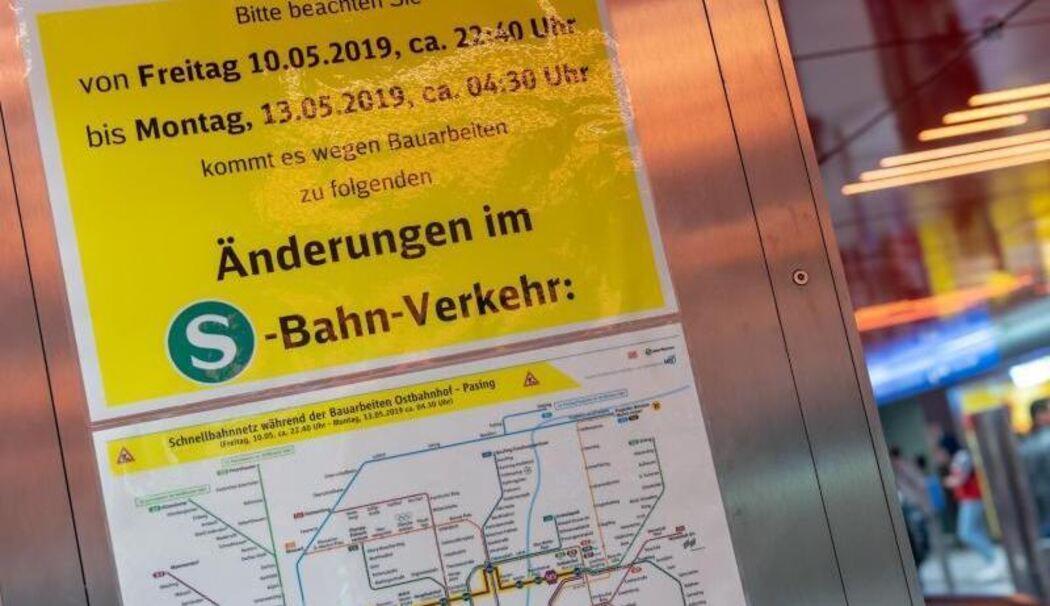 Bauarbeiten Auf Münchner Stammstrecke Haben Begonnen