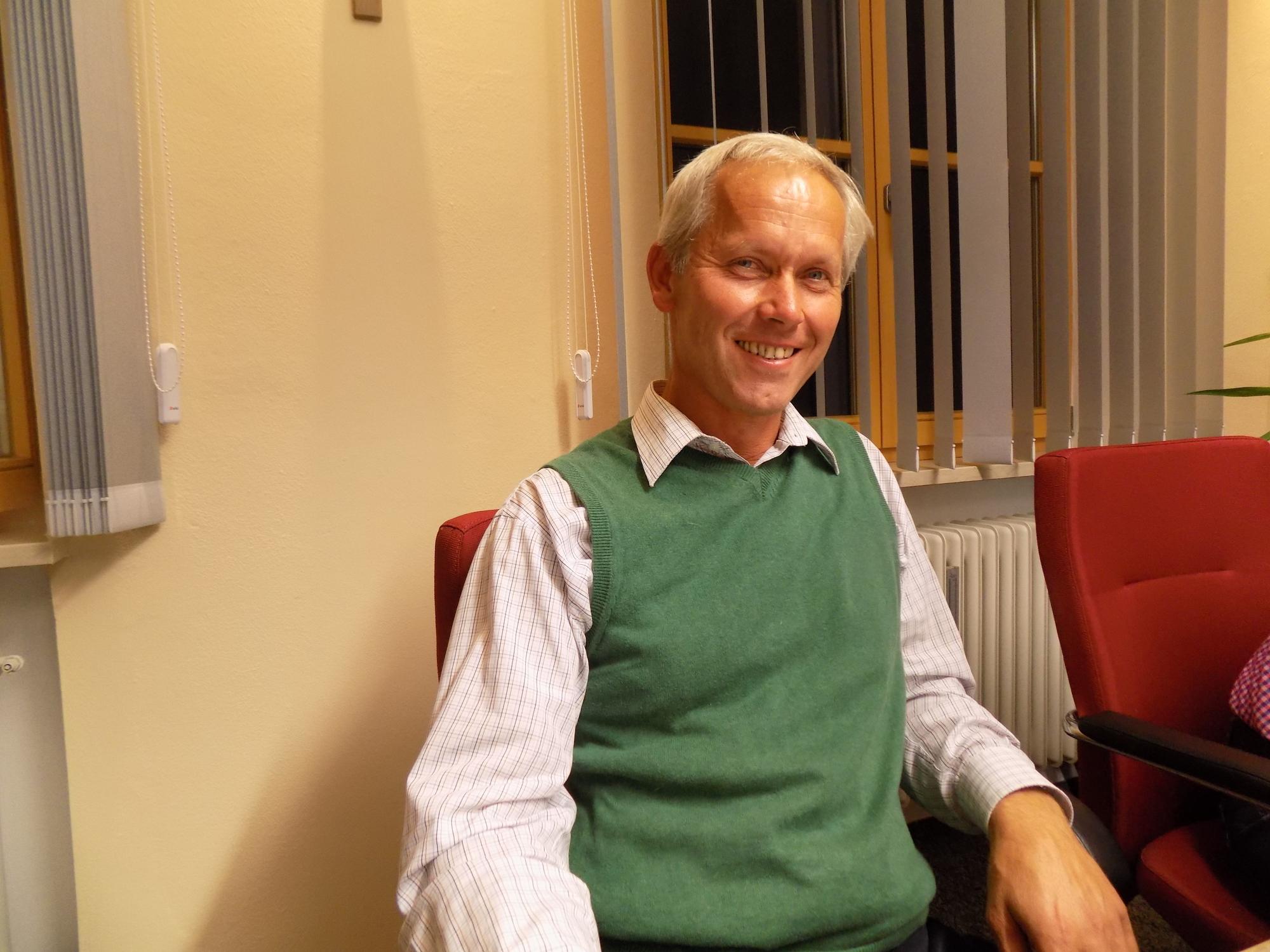 Martin Fenninger will Bürgermeister von Wonneberg bleiben