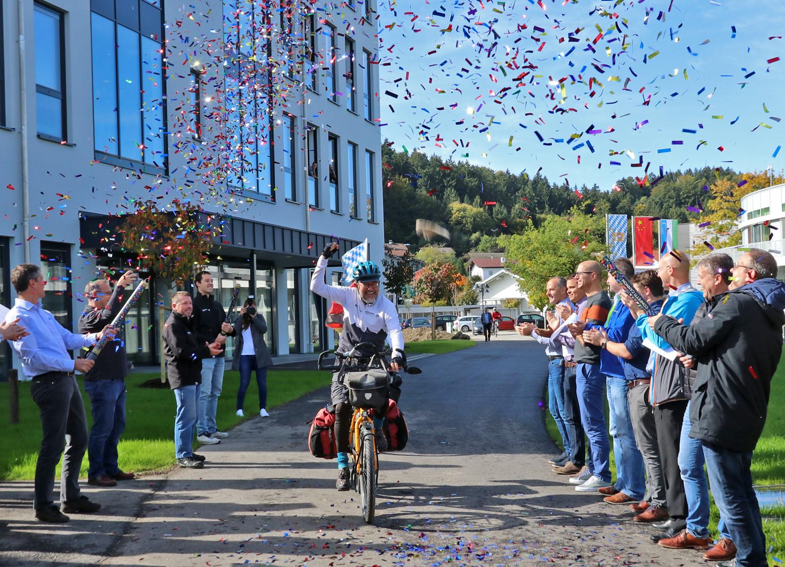 Von China bis Siegsdorf: 16.500 Kilometer mit dem Rad zurückgelegt