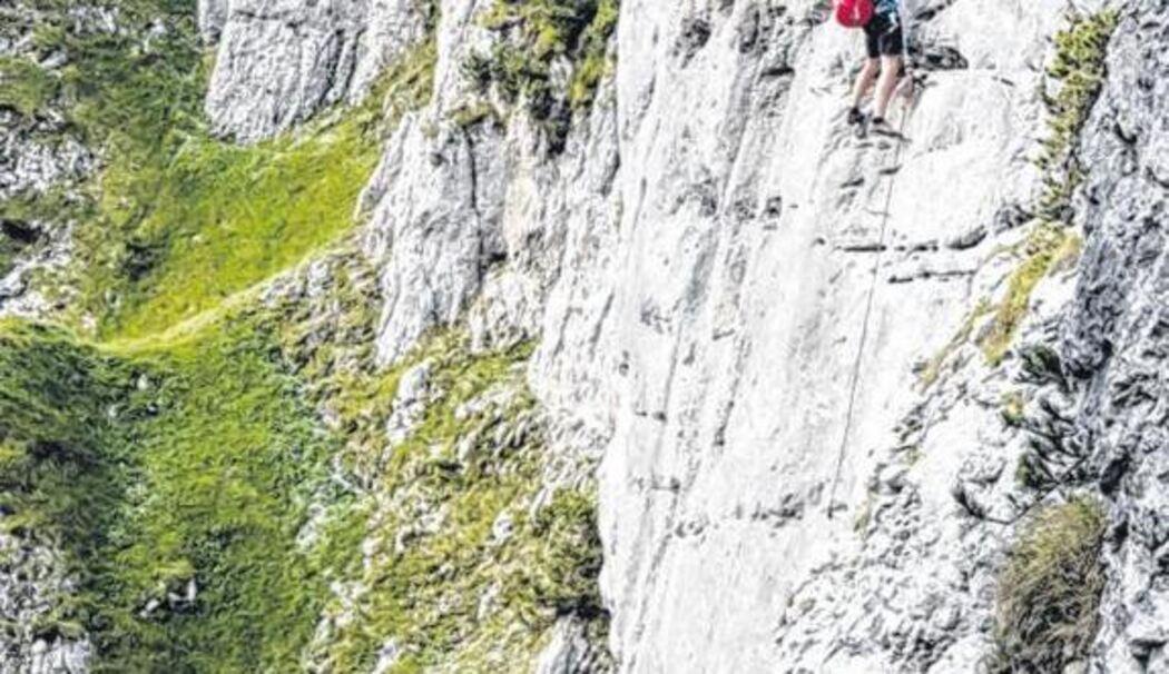 Klettersteig Klamml : Der neue klettersteig klamml begeistert mit spektakulärer zwei