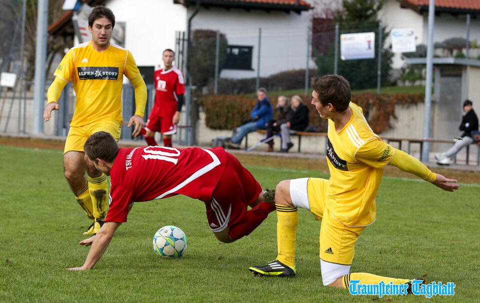 Fußball TSV Altenmarkt - TSV Bad Reichenhall (2:1), 10.11 ...